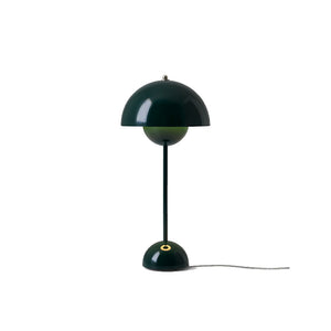 Flowerpot Table VP3, Dark Green