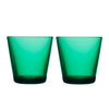 Kartio Tumbler 7 oz, Emerald, Set of 2
