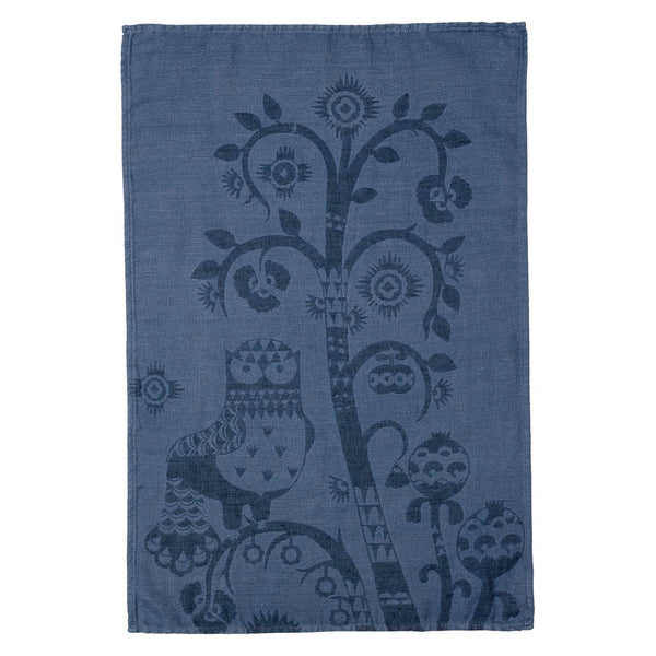 Taika Tea Towel, Blue