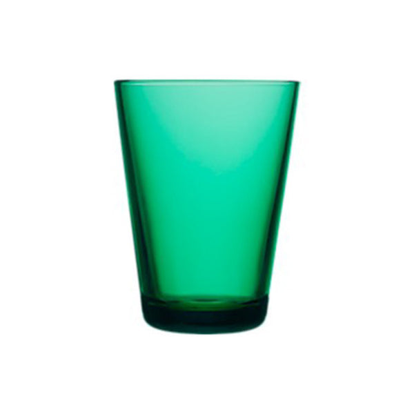 Kartio Tumbler 13 oz, Emerald, Set of 2