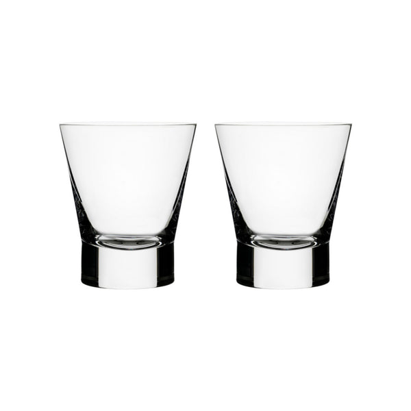 Aarne Double Old Fashioned Glasses, Set of 2
