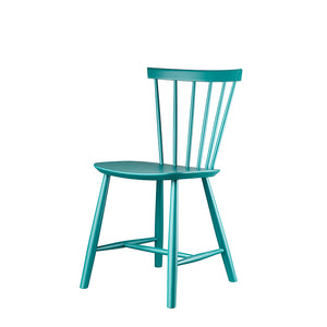 J46 Chair Poul Volther, Petrol Blue