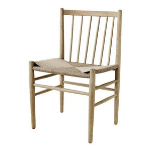 J80 Dining Chair, natur/oak