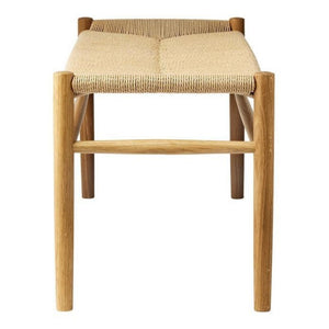 J83B Ottoman, Oak/Natural