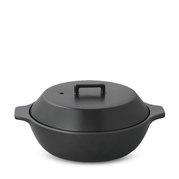 Donabe 85 oz Steamer, Black