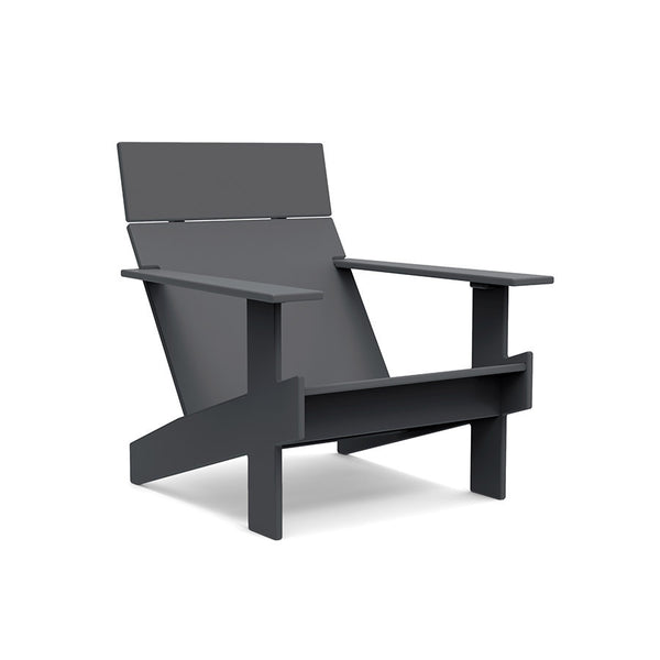 Lollygagger Lounge Chair, Charcoal Grey