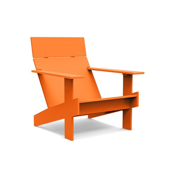 Lollygagger Lounge Chair, Sunset Orange