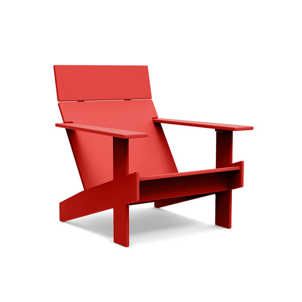 Lollygagger Lounge Chair, Red