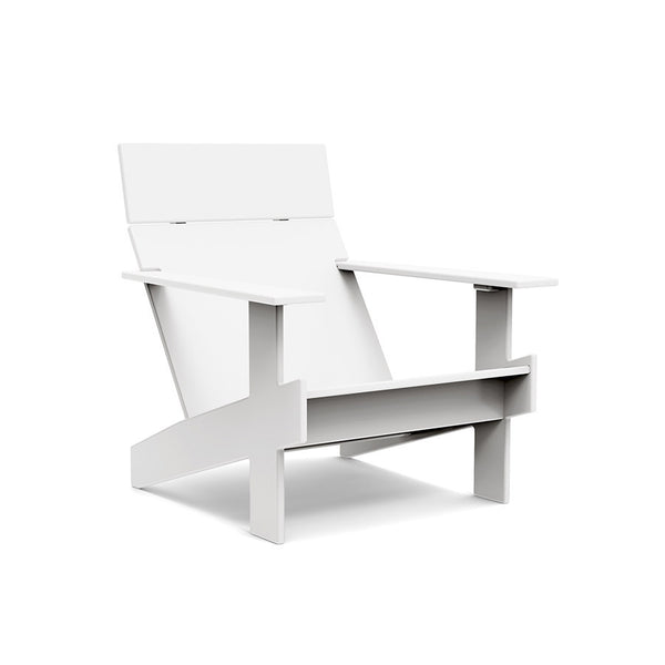 Lollygagger Lounge Chair, Cloud White