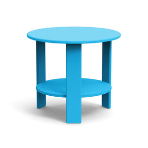 Lollygagger Side Table, Sky Blue