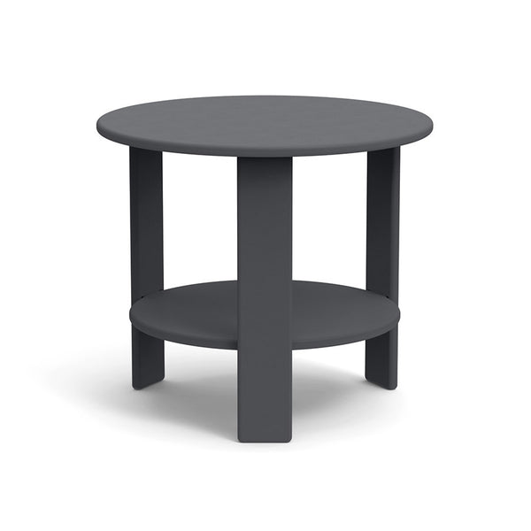 Lollygagger Side Table, Charcoal Grey