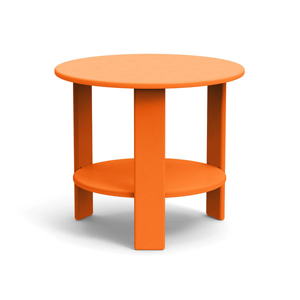 Lollygagger Side Table, Orange