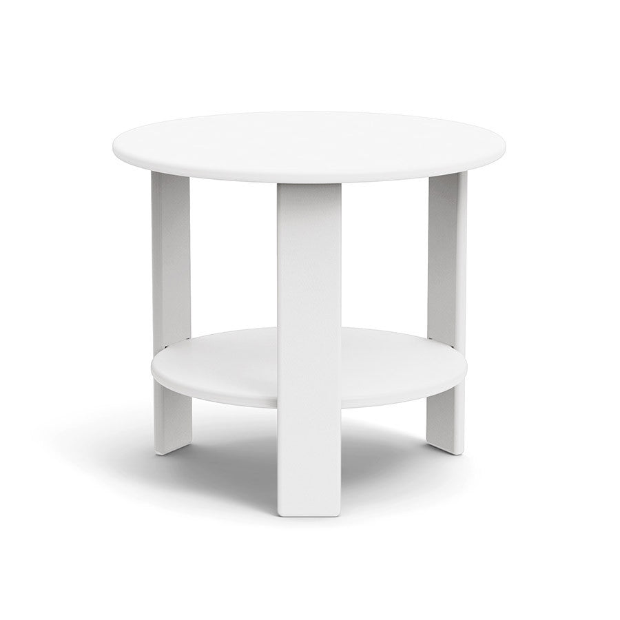 Lollygagger Side Table, Cloud White