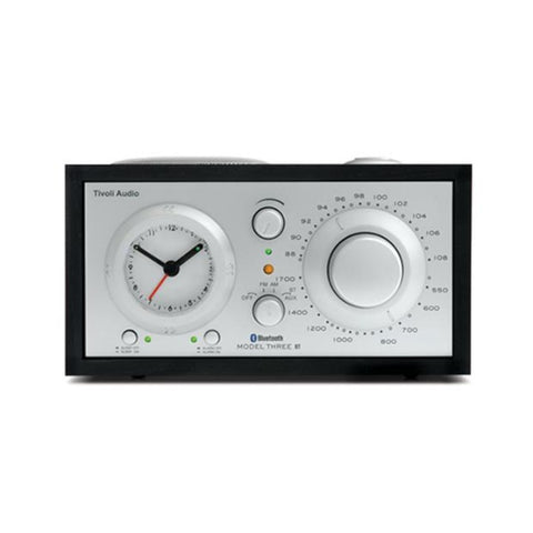 Model Three Radio, Bluetooth, Black Ash/Silver