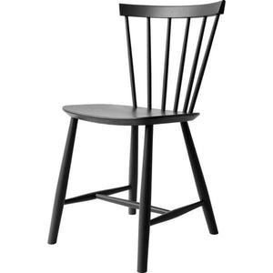 J46 Chair Poul Volther, Black