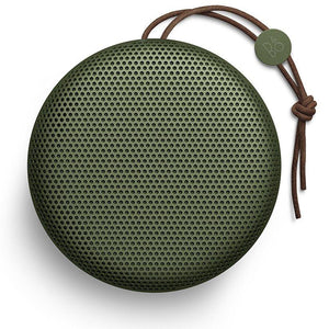 BeoPlay A1 Portable Bluetooth Speaker with Microphone, Moss Green