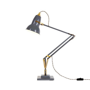 Original 1227 Brass Desk Lamp, Elephant Grey