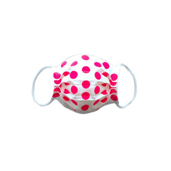 Face Mask, Maikudot Pattern: Pink