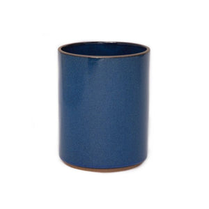 Hasami Planter, Tall, Gloss Blue