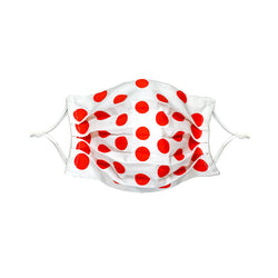 Face Mask, Maikudot Pattern, Disco Tomato
