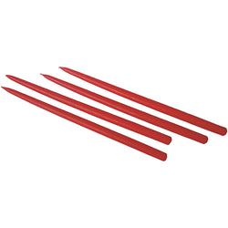 Candles for Gemini Candleholder, Red 4/pack