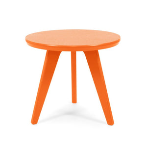 "Satellite End Table, Round, 18"" Orange"