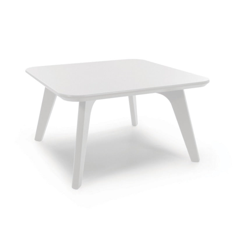 Satellite End Table, Square 26, Cloud White