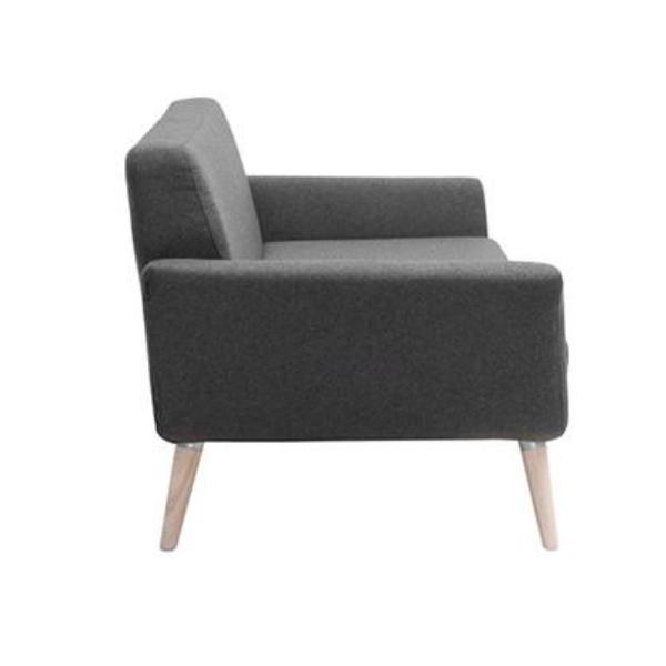 Scope chair, medium grey felt 623