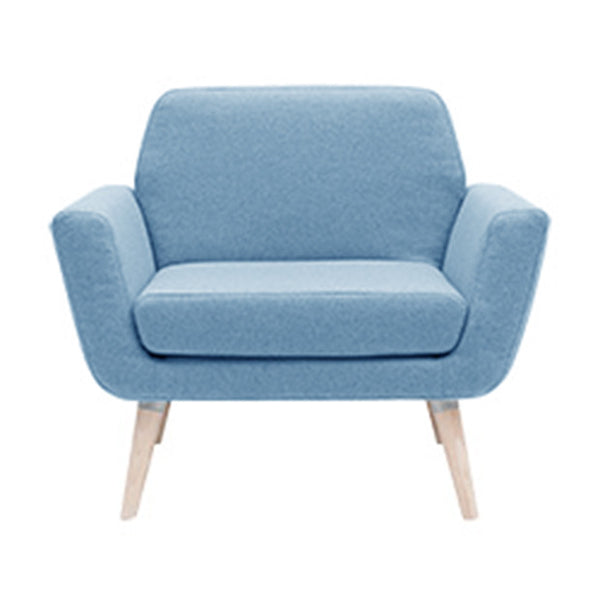 Scope chair, Light Blue Felt 858
