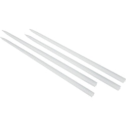 Candles for Gemini Candleholder, White 4/pack