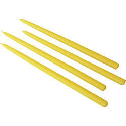 Candles for Gemini Candleholder, Yellow 4/pack