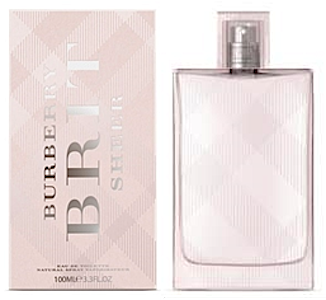 Burberry Brit Sheer perfume fragrance for women