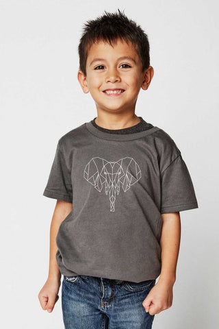 Sudara Geometric Elephant Youth Tee