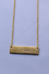 MULXIPLY Freedom Necklace