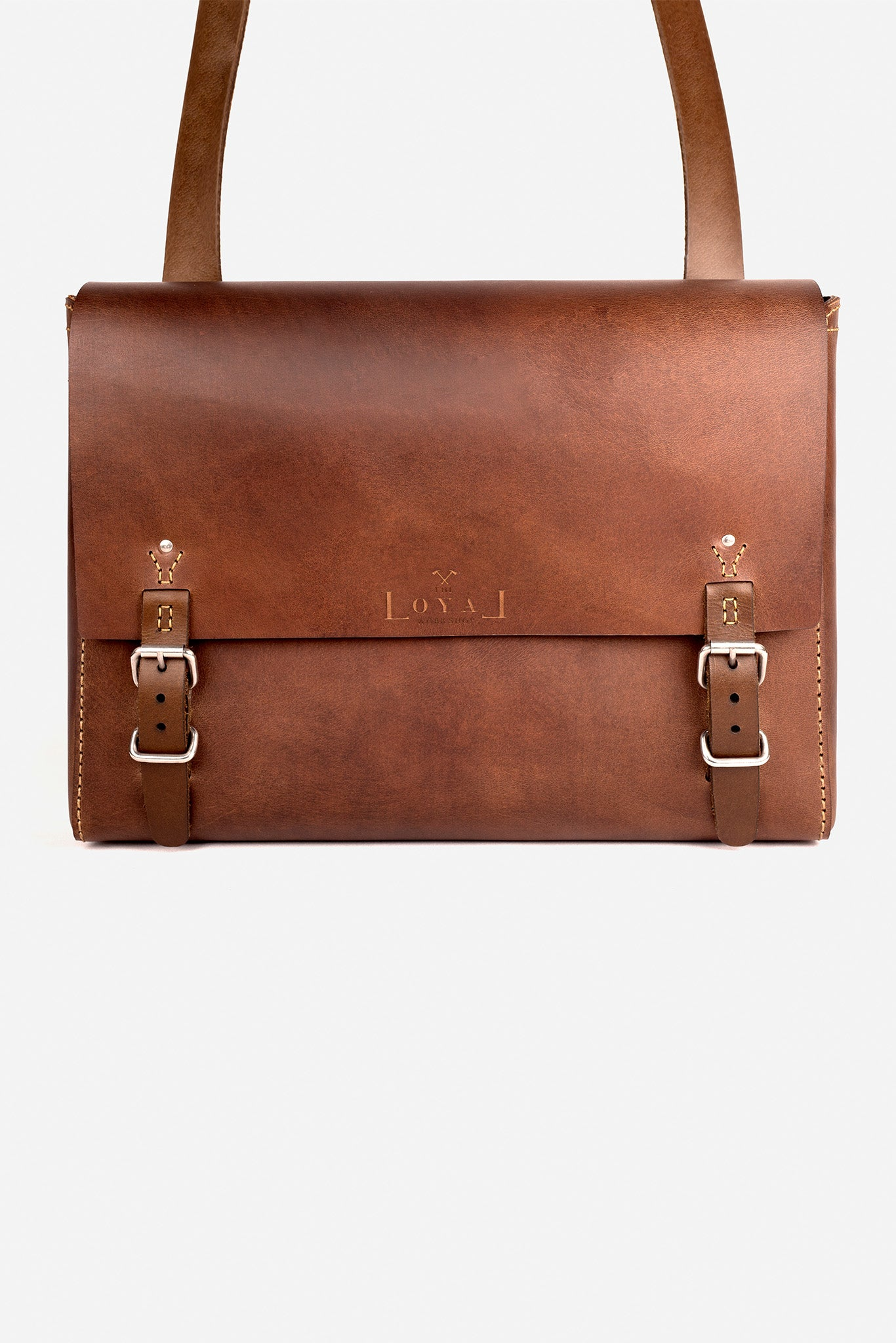The Goodstead: Ethical Leather Satchel