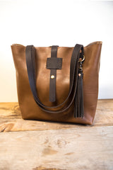 Handmade Leather Everyday Small Tote