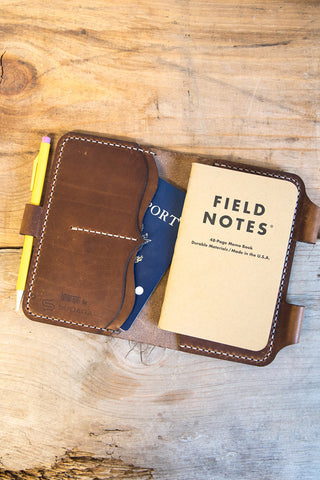 Sudara Triumph Leather Travel Journal