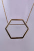 MULXIPLY Hexagon Necklace