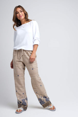 Jatha Brushed Cotton Pajamas for Women