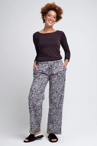 Kaveri Grey Women's Pajama Pants