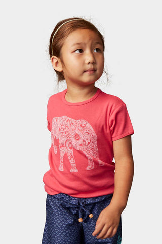 Sudara Magic Elephant Girl's Tee