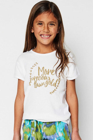 Sudara More Precious Than Gold Tee Girl's