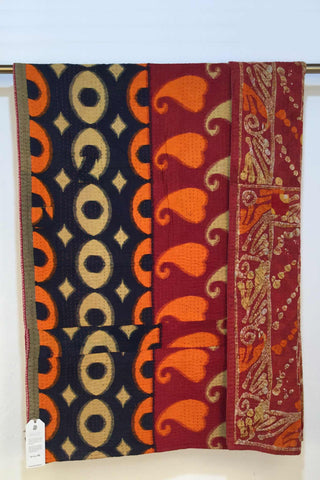 Original Sari Blanket - Sunset Fire Series
