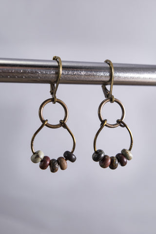 Mocha MaMa Picasso Earrings