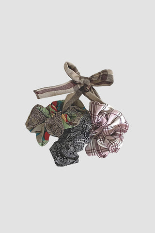 Sudara Print Scrunchies Set
