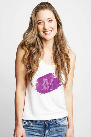 Sudara Stand Out Racerback Tank