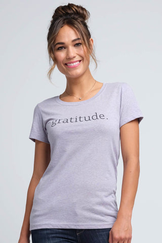 Women's Gratitude Statement Tee