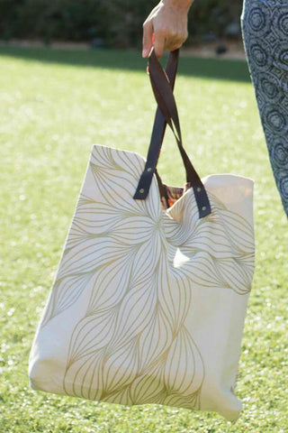 Sunburst Natural Tote