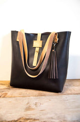 Handmade Leather Large Tote