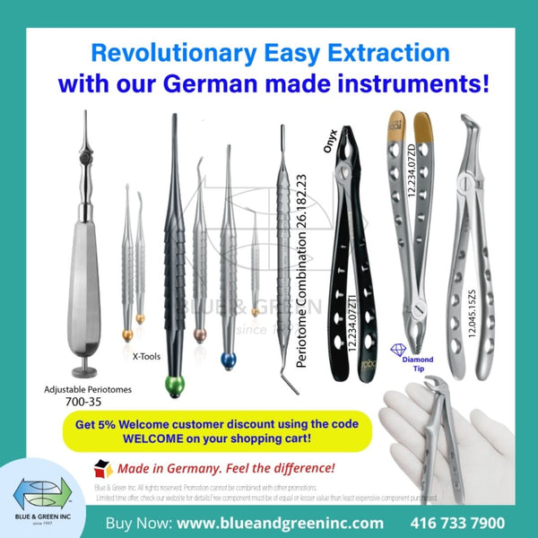 Revolutionary X-Tools and Forceps Dental Extraction